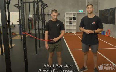 Band Exercise Banded External Shoulder Rotation